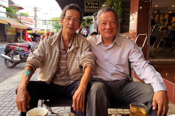 GẶP LẠI BẠN HỌC TRI KỶ SAU HƠN 45 NĂM -  Ngô Huy Hoàng